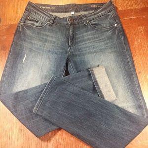 DL1961 size 27 Riley boyfriend distressed jeans